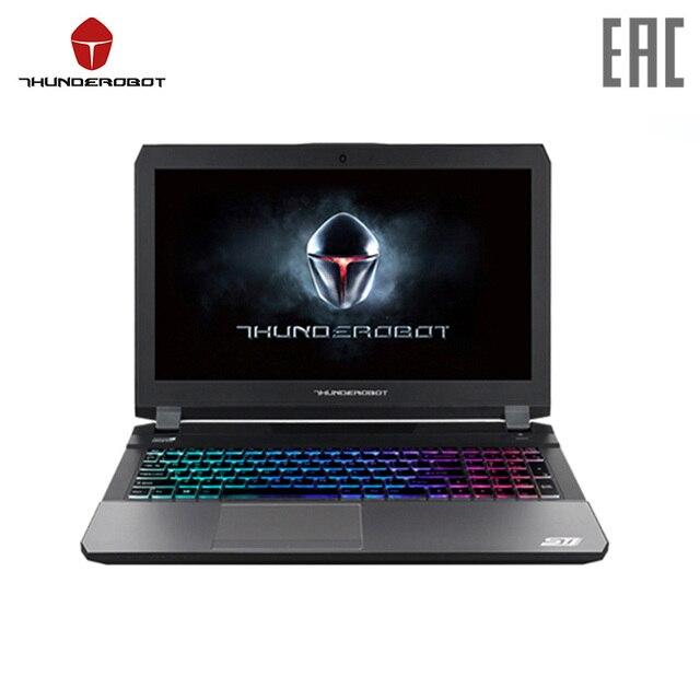 """Игровой Ноутбук Thunderobot ST Pro P1aR 15.6""""/i7-7700HQ/16GB/500GB/GTX1060/noODD/Win10/серебро (JT009P00S) Официальная гарантия 1 год"""