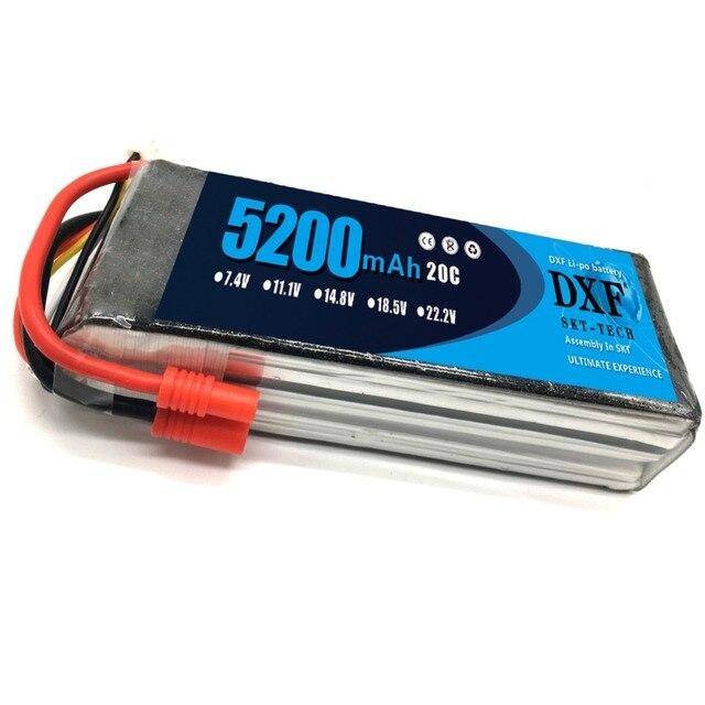 2PCS 11.1V 5200Mah 3S 20C DXF Lipo Battery For Walkera QR X350 PRO RC Drone Quadcopter SPARE PARTS Walkera Upgrade Parts 2