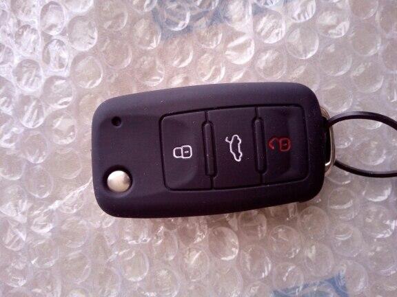 Горячая силиконовая крышка ключа автомобиля чехол Брелок для VW Golf Bora Jetta Поло Гольф Passat для Skoda Octavia A5 fabia для SEAT Ibiza Leon