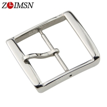 ZLIMSN Watch Buckle Silver Stainless Steel 14 16 18 20 22mm Watchbands Strap Screw-in Metal Clasp Relojes Hombre 2016