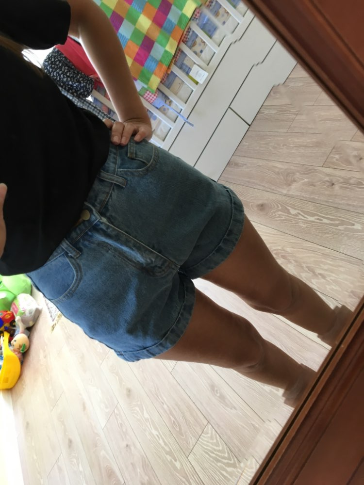 High Waist Denim Shorts For Women Vintage Sexy Brand Shorts Jeans Women Denim Shorts Feminino Slim Hip Plus Size photo review