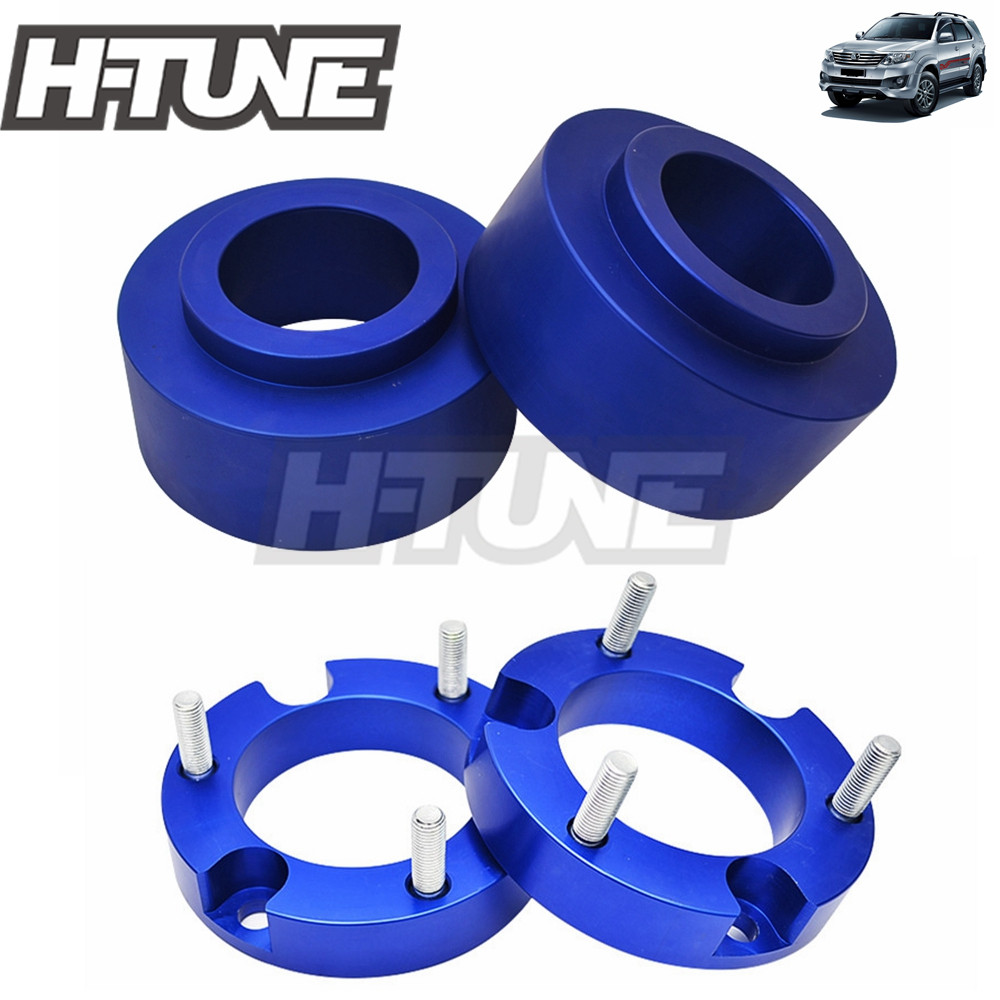 H TUNE 4x4 Accesorios 2 Front Rear Coil Shock Spacer Lift Kit Leveling Kit For Fortuner