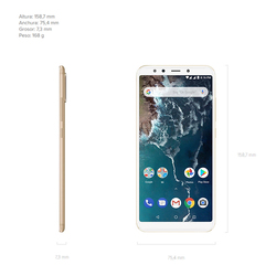 "Xiaomi Mi A2 Smartphone 5,99""FHD+ (RAM 4 GB + ROM 64 GB, Dual SIM, Dual Camera 12 + 20 MP, Android One*) 5"