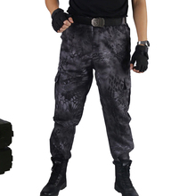 11cfaa06e2b133 Cargo CS Trousers Black Python Military Polyester Pants Tactical Camouflage  Pant Hunting Shooting Clothing Fishing Desert