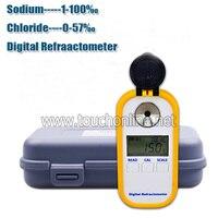 Brix 0 90% сахарный Цифровой рефрактометр для режущих жидкостных режущих агентов TDR102