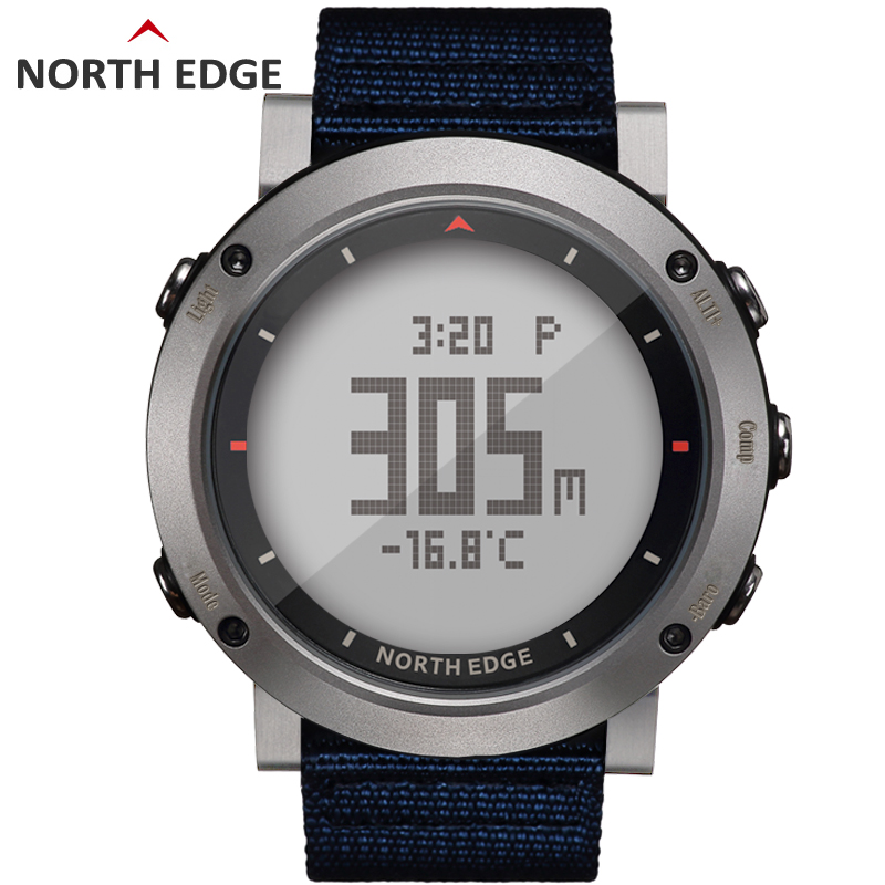 Digital Man sport watch Waterproof Colorful sports watches Hours Running Swimming Altimeter Barometer Compass Weather North Edge digital man sport watch waterproof colorful sports watches hours running swimming altimeter barometer compass weather north edge