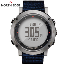 Digital Man sport watch Waterproof Colorful sports watches Hours Running Swimming Altimeter Barometer Compass Weather North Edge