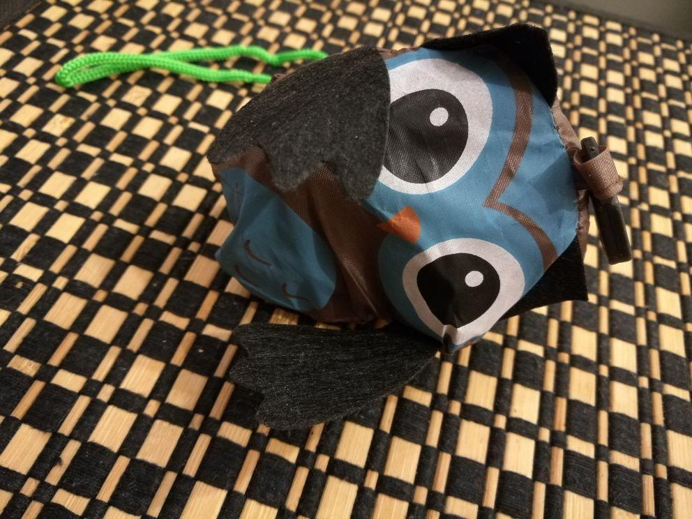 Nieuwe herbruikbare handtas boodschappentas Tote Eco Travel dierlijke boodschappentas Reizen verpakking organisatoren (willekeurige kleur) photo review