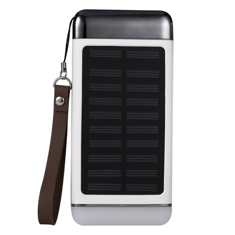 Buy New 10000mAh Solar Power Bank Short Circut Protection Long Lasting High Capacity Powerbank Charger External Battery For Xiaomi for only 26.16 USD