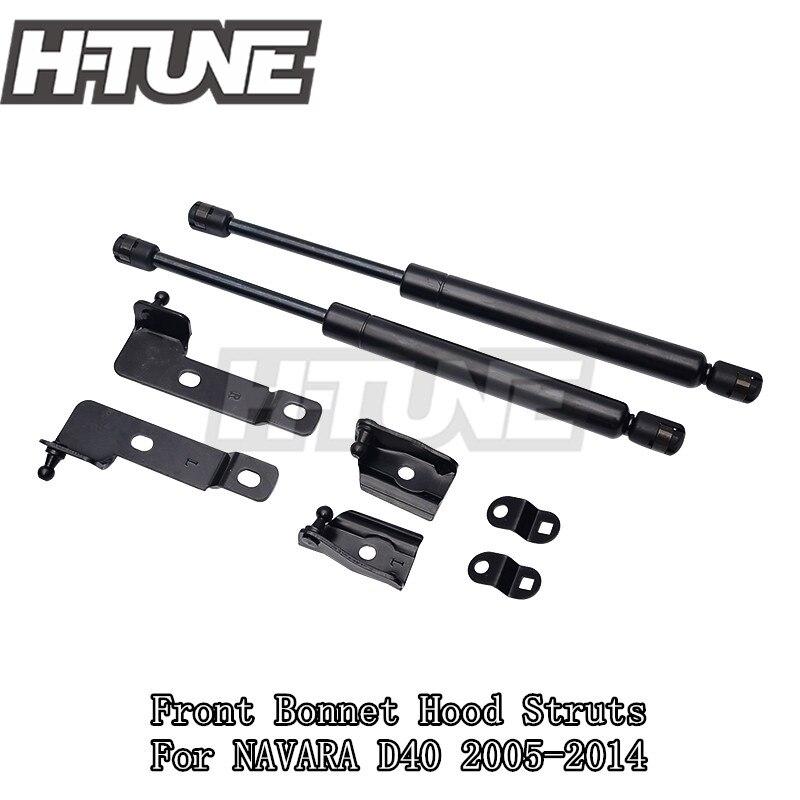 H-TUNE 4x4 Accessoires Avant Capot de Capot Gaz Ascenseur Soutien Choc Strut Amortisseur pour NAVARA D40 05-15