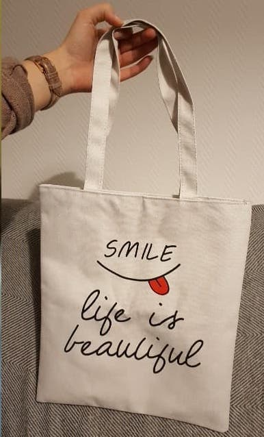 Reusable Shopping Bags Women Cloth Canvas Bag Large Capacity Foldable Eco Grocery Tote Bag Casual Female Shopper Fabric Handbag photo review