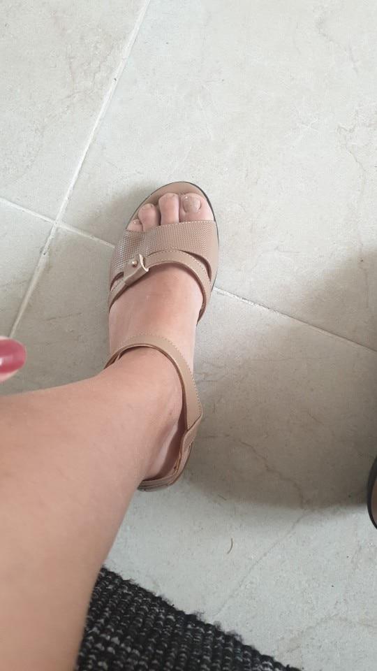 sandálias femininas Sandálias Genuíno Tamanho