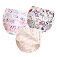 Nowe spodnie treningowe wielokrotnego użytku dla niemowląt tkanina dla niemowląt pieluchy dla niemowląt zmywalna bawełna gaza majtki dla noworodka bielizna nocna tanie tanio qianquhui 5-12 kg 7-9 miesięcy 10-12 miesięcy 2 lat w górę 13-18 miesięcy 19-24 miesięcy 0-3 miesięcy 4-6 miesięcy