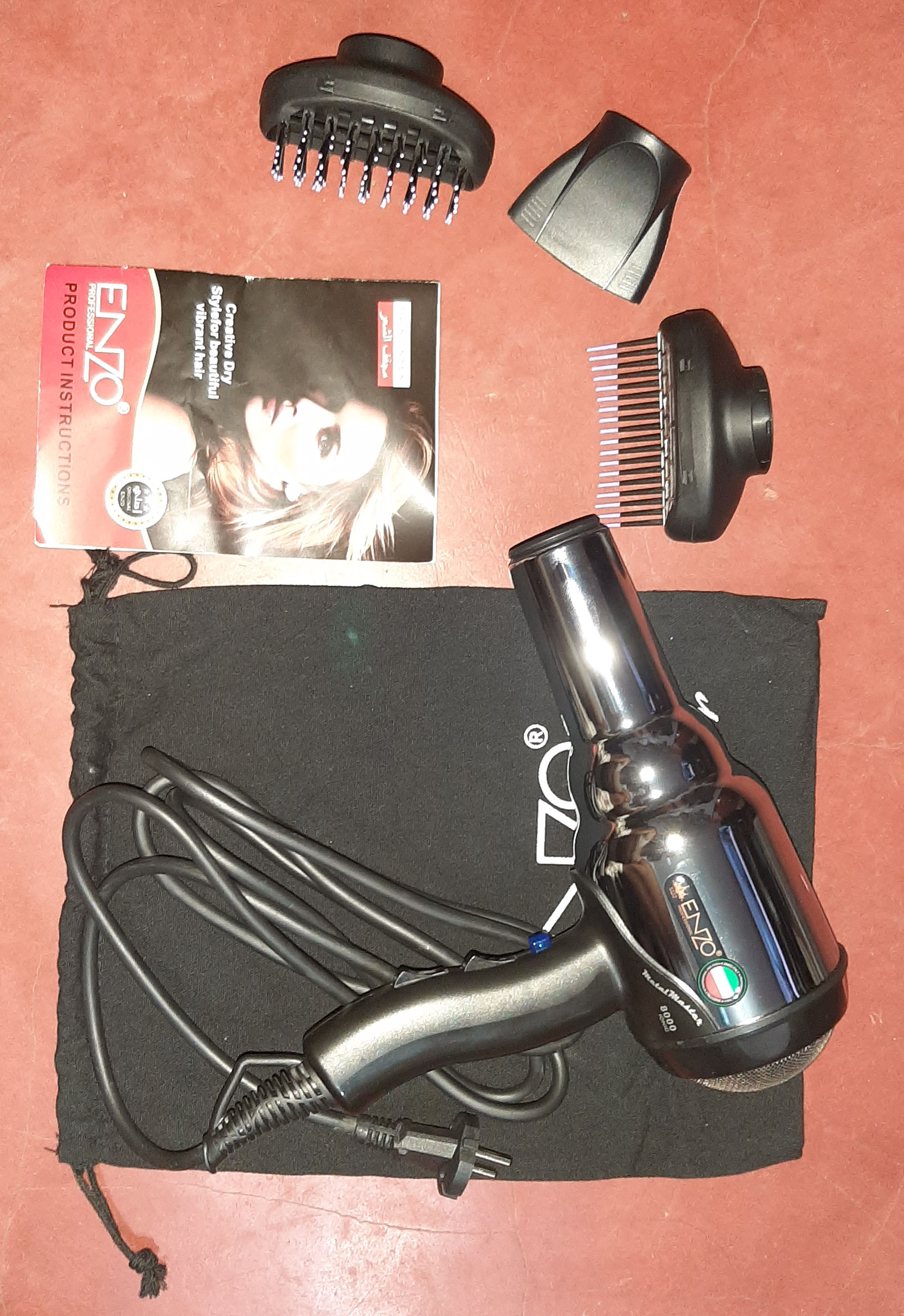 Secadores de cabelo Volumizer Professional Secador