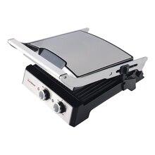 Гриль-пресс Endever Grillmaster 230 (Мощность 2400 Вт, регулировка температуры 100-220°С, антипригарное покрытие, таймер до 30 минут)