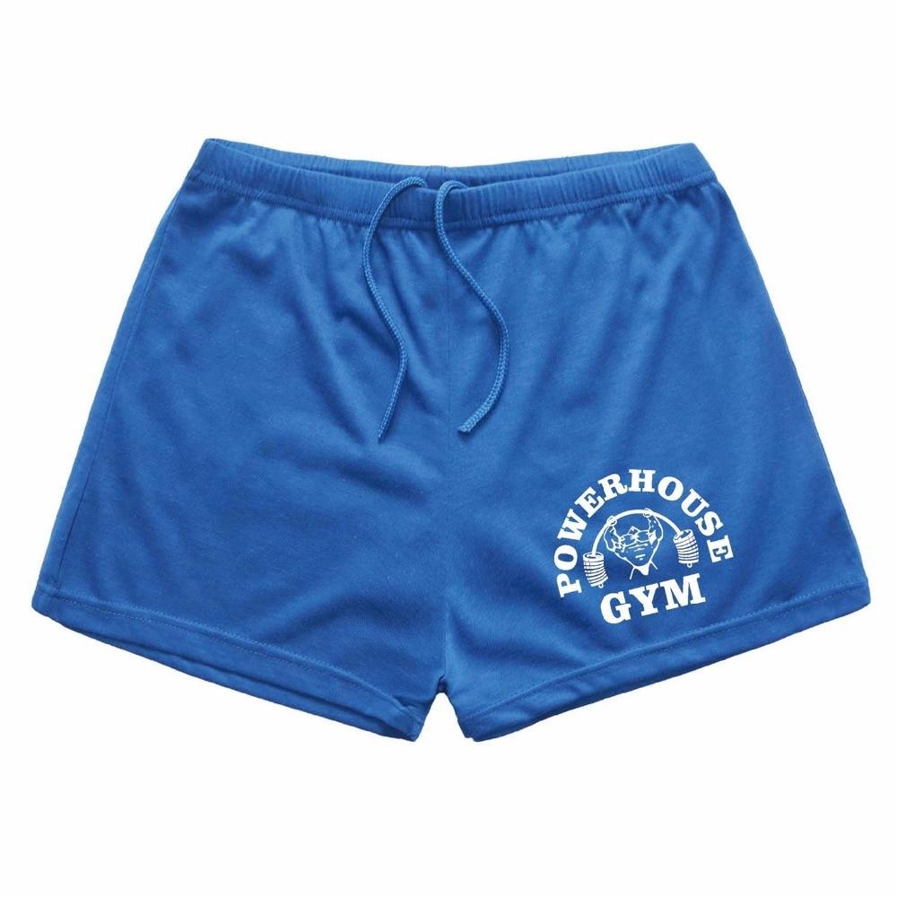 2019 NEW Men's Board Shorts Powerhouse Fitness & Bodybuilding Workout Shorts,Drawstring Shorts For Man Cotton Short Board Shorts  - AliExpress