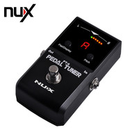 NUX PT 6 Pedal Tuner Chromatic Tuning Mode Allows A Wide Range of Tuning Options LED Display Pedal Receiver Guitar Parts