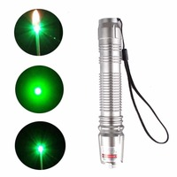 High Power Green Laser Pointer Pen Powerful 532nm Military Visible Beam Light Single Point Starry Laser
