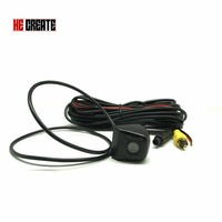 HE CREATE 170 Degree Car 4 LED IR Infrared Night Vision Rear View Camera Mini Waterproof