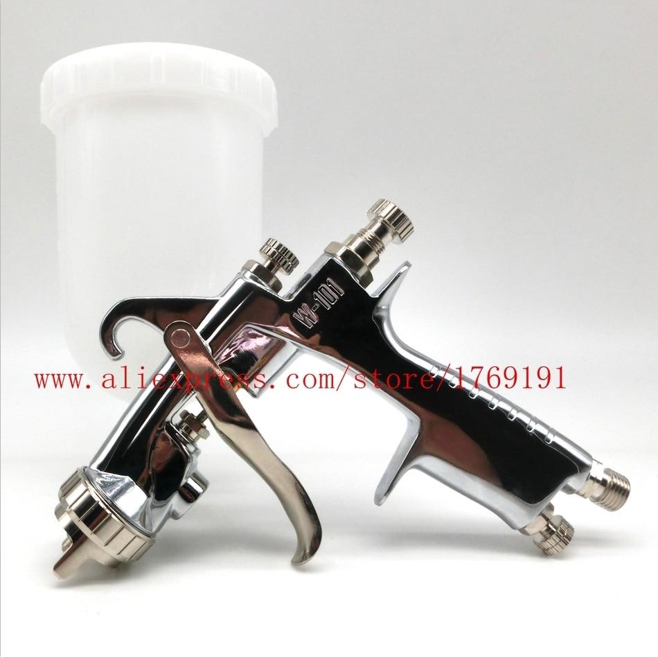 plastic 400cc cup SPRAY GUN W-101 air spray gun hand manual spray gun,1.0/1.3/1.5/1.8mm Japan quality,W101 SPRAYER air spray gun