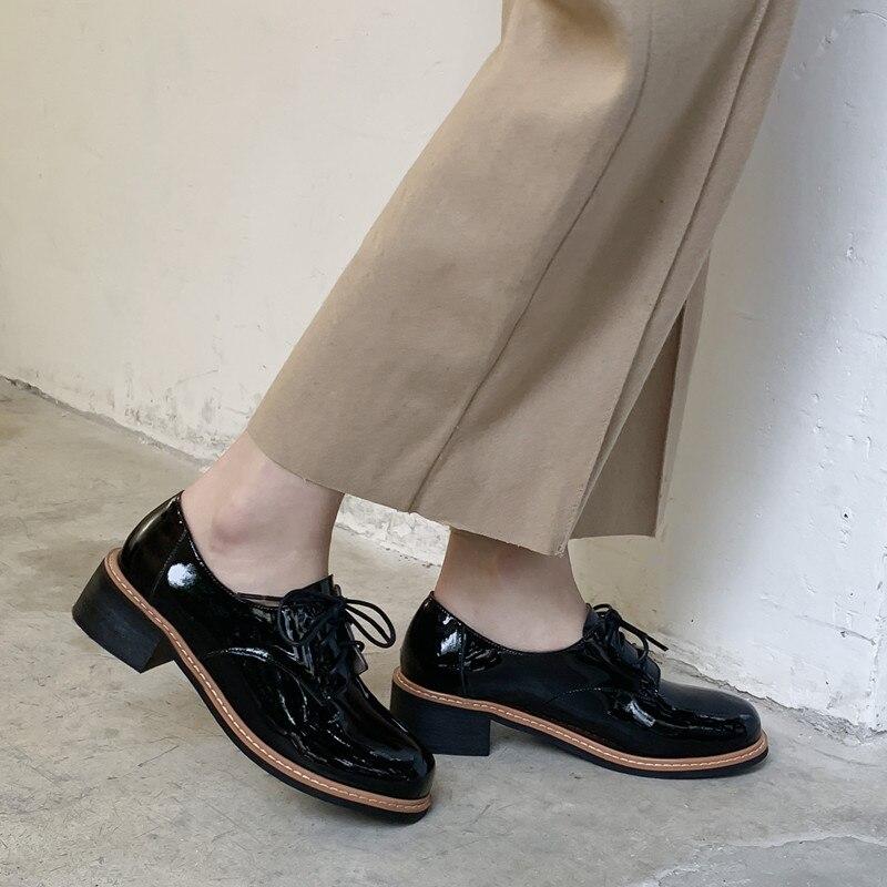 schwarzem l 3 cm Lace ssig aus 2019 Damenmode Leder up Schuh Mann 5 Schuhe kZiPXu