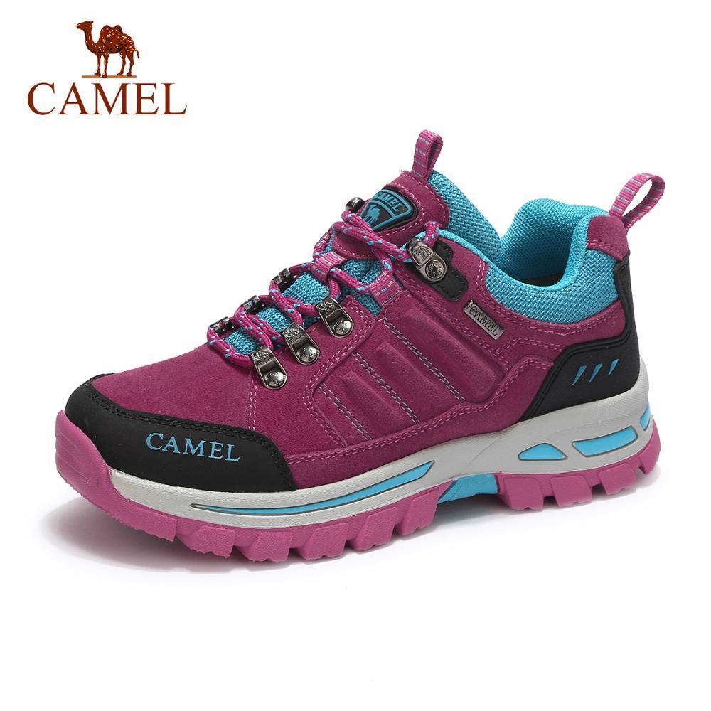 CAMEL Women Outdoor Hiking Shoes Anti slip Durable Comfortable Camping Travel Trekking Shoes