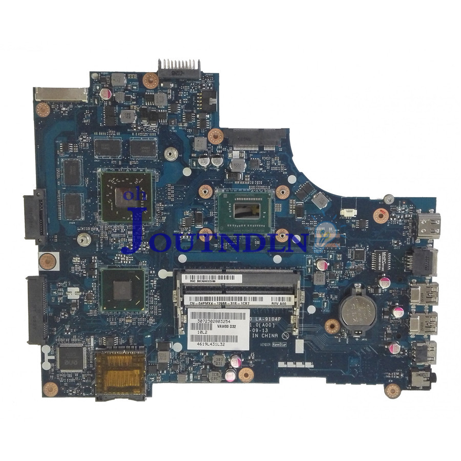 Laptop Motherboard Good Joutndln For Dell Inspiron 3521 Laptop Motherboard 4pmx4 04pmx4 Cn-04pmx4 W/ I5-3317u Cpu 216-0833000 Gpu Slj8e Vaw00 La-9104p Computer & Office