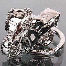 Модная мужская крутая мотоциклетная подвеска, сплав, брелок для автомобиля, брелок для ключей, подарок