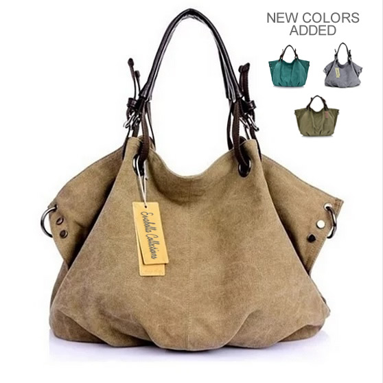 Journey Collection Canvas Handbag In 8 Colors (1)