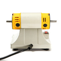 750W Bench Grinder Polishing Machine Kit For Jewelry Dental Bench Lathe Motor