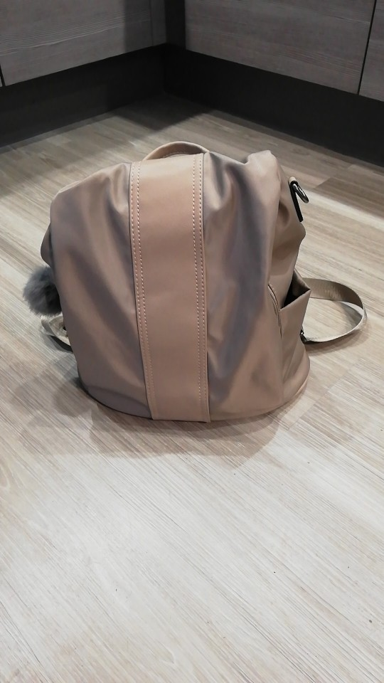 HERALD FASHION Quality Leather Anti-thief Women Backpack Large Capacity Hair Ball School Bag for Teenager girls Male Travel Bags photo review
