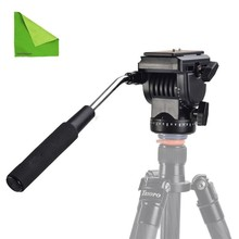 EACHSHOT YT-950 Tripod Motion Fluid Drag Head Video Digital camera For DSLR Taking pictures Filming with EACHSHOT Cleansing Fabric
