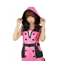 X COSTUME Kingdom Hearts III Game Cosplay Kelly Pink One piece Dress Cosplay Costume Brand Sale Flavors Of Youth Anime Costume