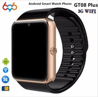 696 Bluetooth Android Smart Watch GT08 Plus Support Camera Nano 3G SIM Card WIFI GPS Google
