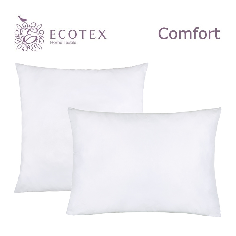 Pillow Fiber collection Comfort. Production company Ecotex(Russia). pillow fiber collection comfort production company ecotex russia