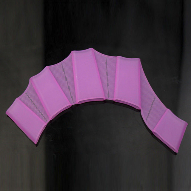 Silicone Webbed Gloves for Swimming