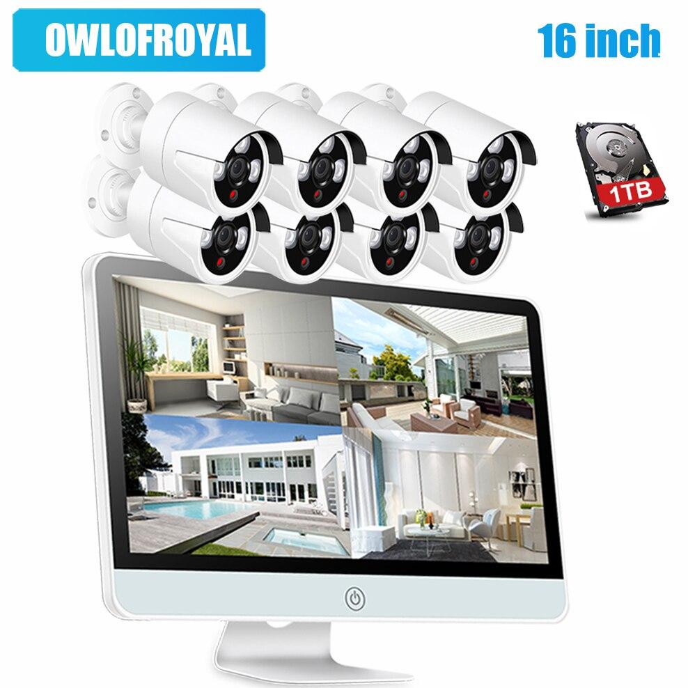 IMPORX HD 720P 8CH CCTV System Wireless 16\