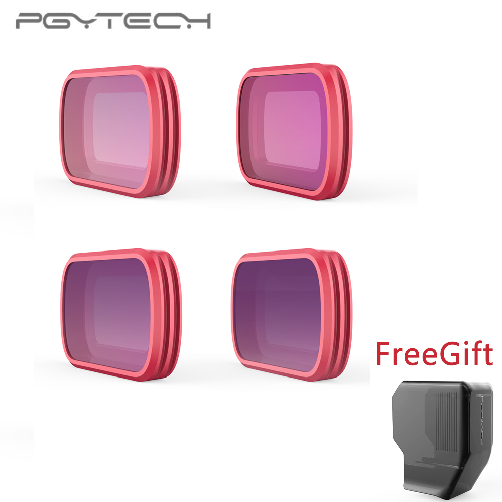 In Stock PGYTECH For DJI OSMO Pocket Filters set Professional Filter 4ps set ND 8 16