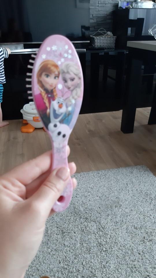 Disney Elsa Anna Air Cushion Comb The Frozen Girls Comb Children Baby Cartoon Anti-static Comb