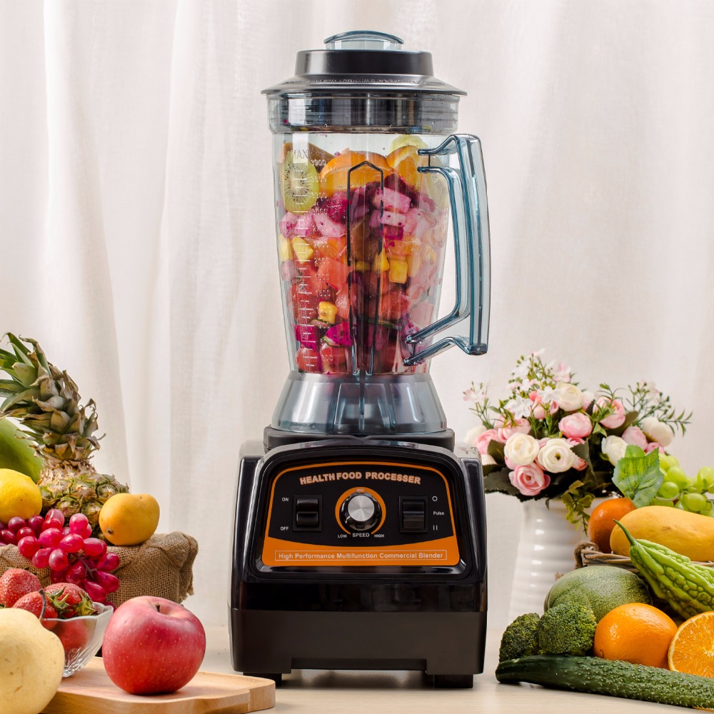 A7400 Kitchen Powerful Electric Food Mixer 2800W BPA FREE Material Juicer Smoothies Ice Black Blender Mixer