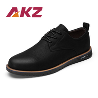 AKZ Brand Casual Shoes Men 2018 New Spring Summer Shoes High Quality Soles Soft Comfortable Work