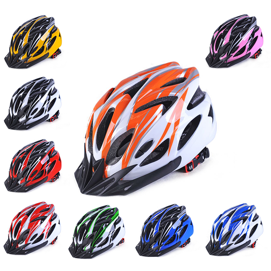 Helmet Road-Bicycle Mountain-Bike Cycling Ultra-Light Safety Racing MTB 18-Hole Drop-Ship
