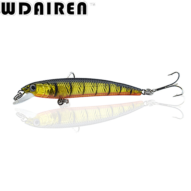 1Pcs 7.5cm 5.6g Minnow Fishing Lure Wobbler Artificial Fly Fishing Hard Bait Carp Laser Sinking Slowly Crankbait Fishing Tackle 1pcs 15 5cm 16 3g wobbler fishing lure big minnow crankbait peche bass trolling artificial bait pike carp lures fa 311