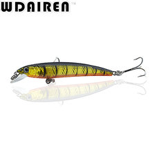 1Pcs 7.5cm 5.6g Minnow Fishing Lure Wobbler Artificial Fly Fishing Hard Bait Carp Laser Sinking Slowly Crankbait Fishing Tackle