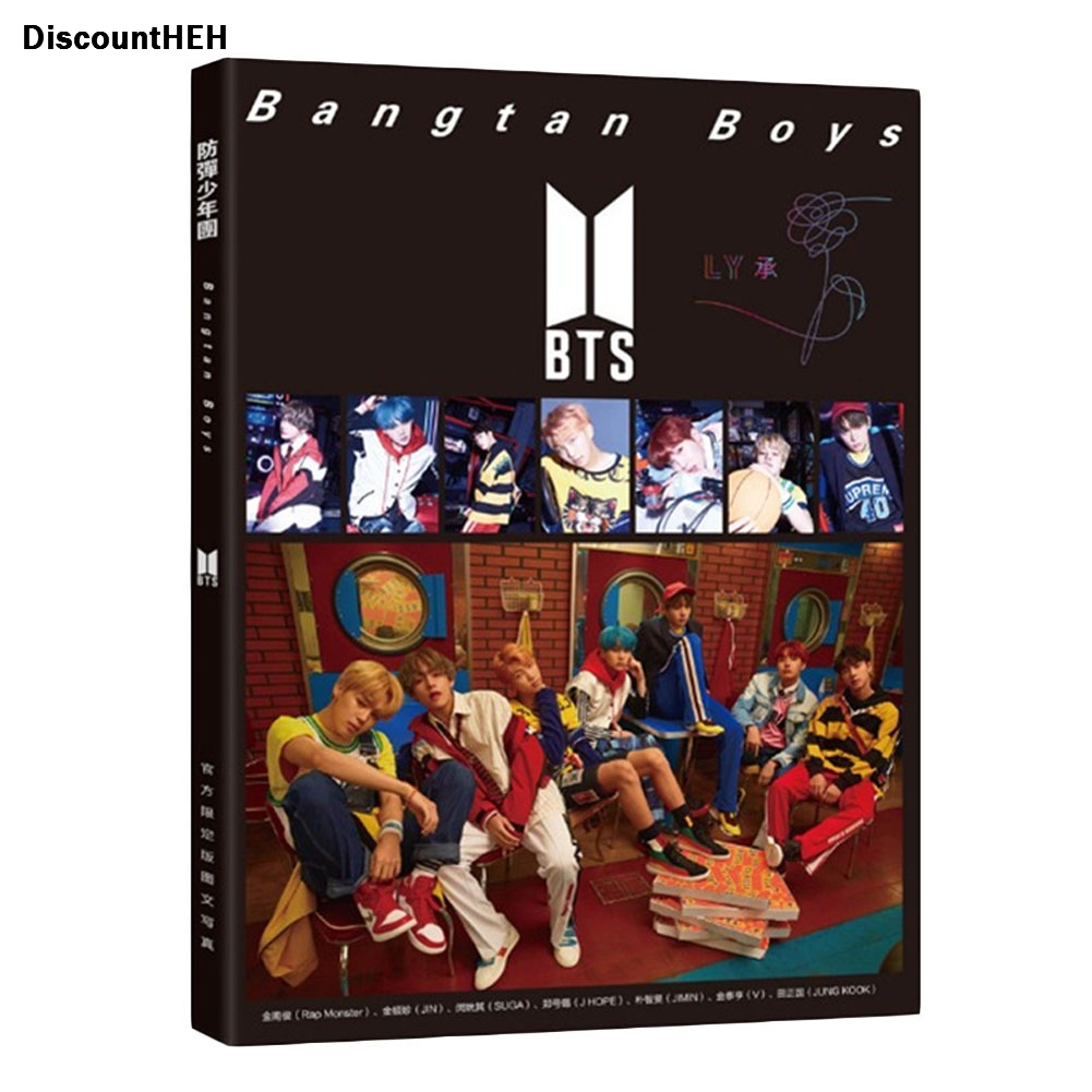 Youpop  BTS Bangtan Boys LOVEYOURSELF photo album LOMO Cards  New Fashion Self Made Paper Photo Card HD Photocard bangtan boys the best of bts japan edition release date 2017 01 06