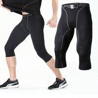 Hombres Compression Base Layer pantalones cortos Kit deportivo Fitness  Leggings baloncesto fútbol Camisas Pantalones recortada pierna 8cc3319ae35fb
