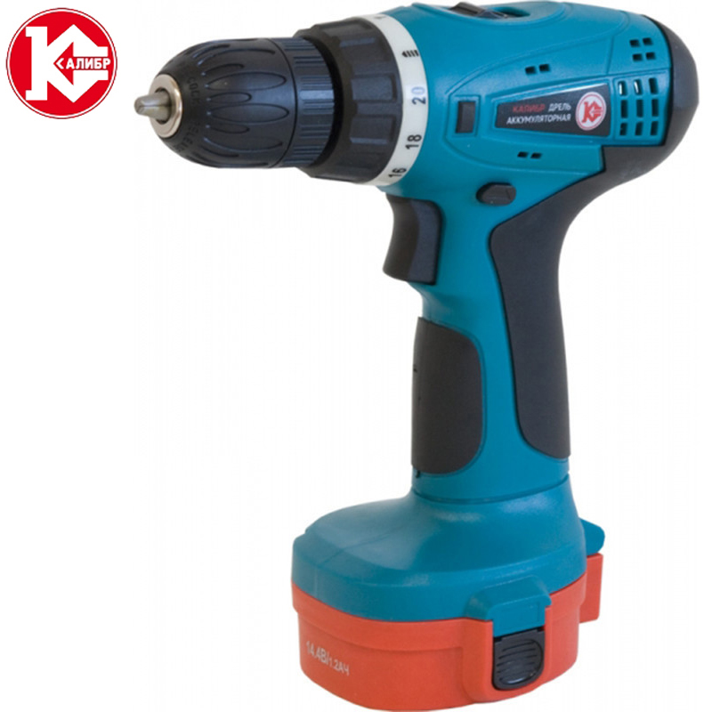 Kalibr DA-514.4/2+ Electric Screwdriver Cordless Drill Wireless Power Driver new electric drill cordless screwdriver rechargeable battery electric screwdriver parafusadeira furadeira tenwa power tools