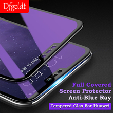 Anti-Blue Ray Screen Protector Full Covered HD Film for Huawei Nova 2S 3E 3I 2.5D Tempered Glass P20 Pro Mate 10