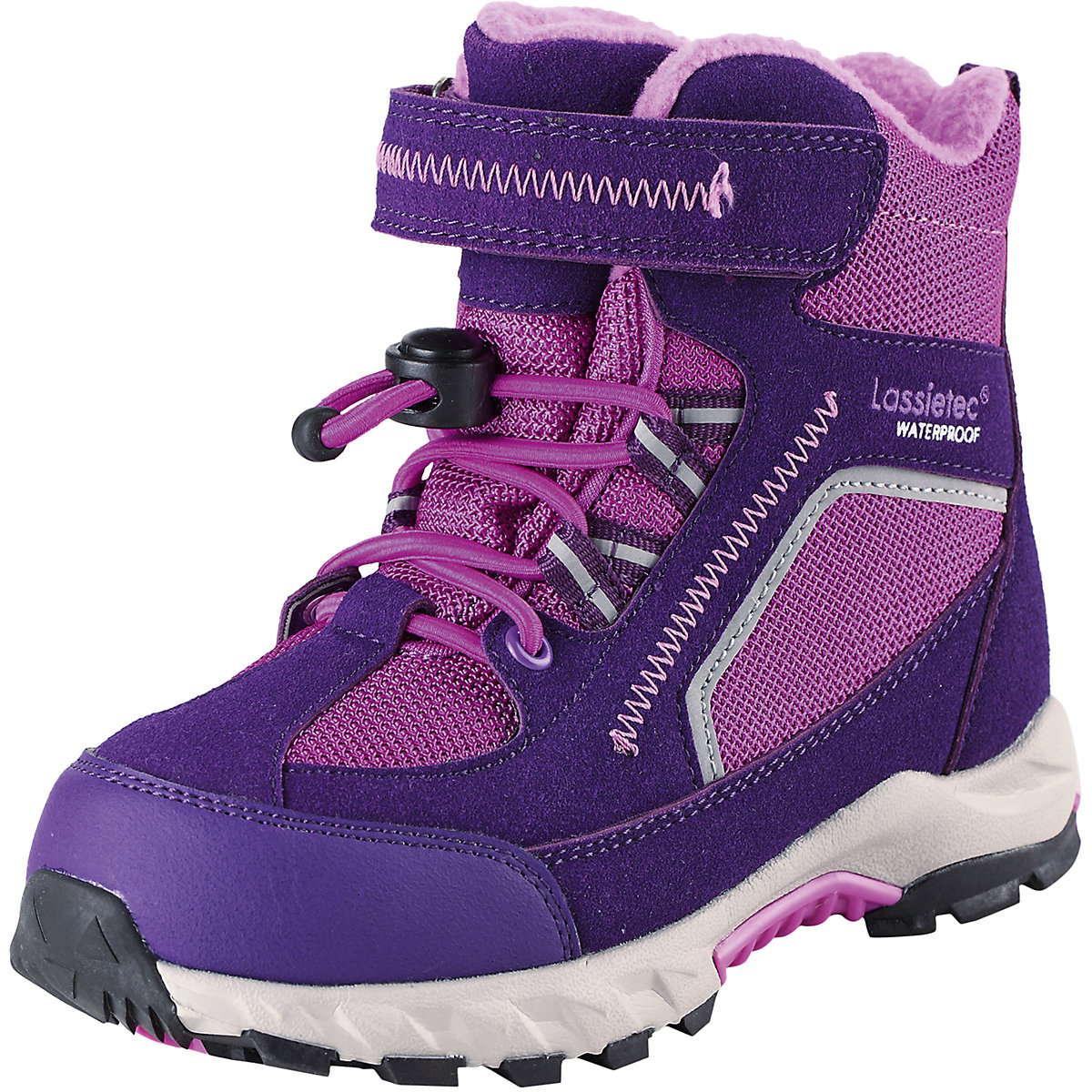 Boots LASSIE for girls 8622538 Valenki Uggi Winter shoes Children Kids