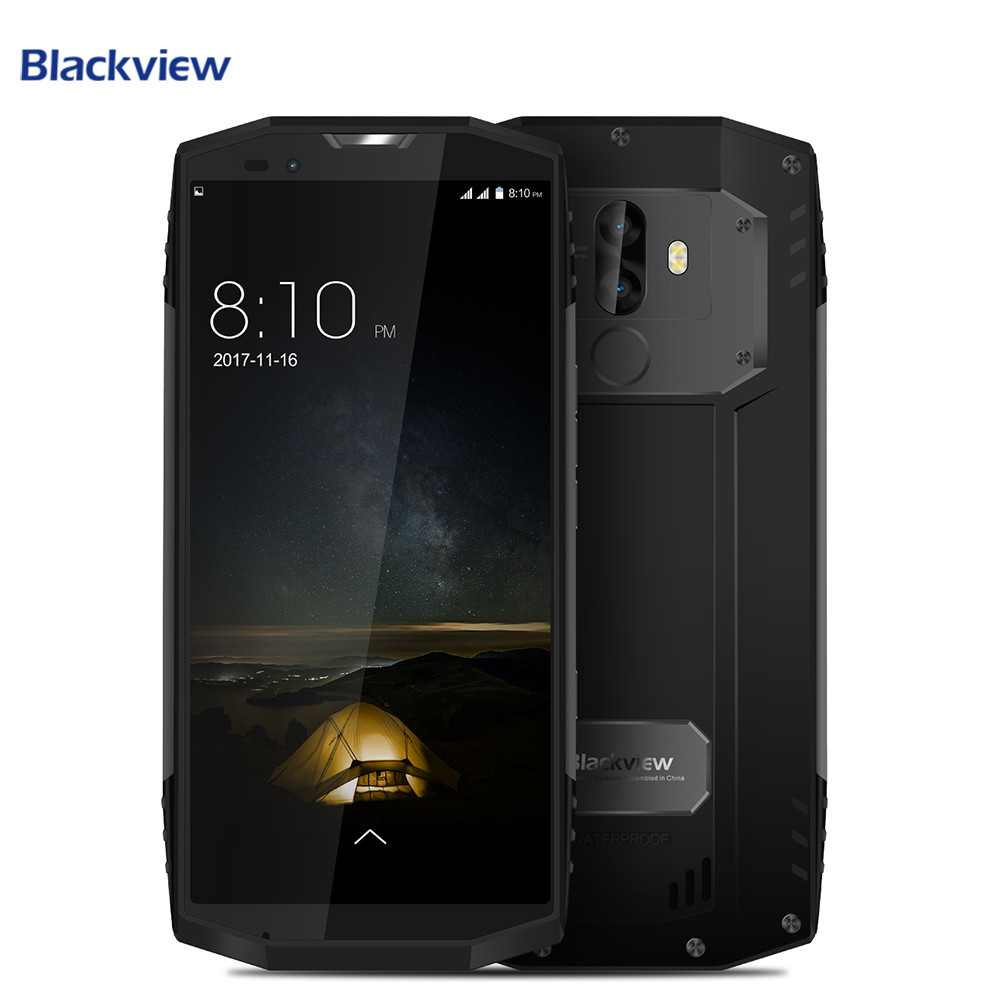 Blackview BV9000 Pro <font><b>IP68</b></font> Waterproof NFC <font><b>Cell</b></font> <font><b>Phone</b></font> 5.7&#8243; 18:9 FHD+ Full Screen 6GB+128GB Helio P25 Octa Core 4180mAh Smartphone